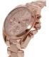 Michael Kors Women's Bradshaw MK6066 Rose-Gold Stainless-Steel Quartz Watch - Side Image Swatch