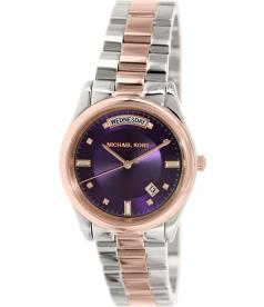Michael Kors Women's Colette MK6072 Silver Stainless-Steel Quartz Watch