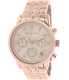 Michael Kors Women's Ritz MK6077 Rose Gold Stainless-Steel Quartz Watch - Main Image Swatch