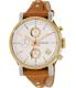 Fossil Women's Boyfriend ES3615 Brown Leather Analog Quartz Watch - Main Image Swatch