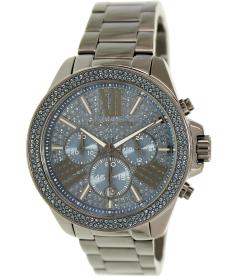 Michael Kors Women's MK6097 Gunmetal Stainless-Steel Analog Quartz Watch