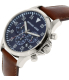 Michael Kors Men's Gage MK8362 Brown Leather Quartz Watch - Side Image Swatch