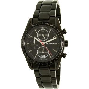 Michael Kors Men's Accelerator MK8386 Black Stainless-Steel Quartz Watch