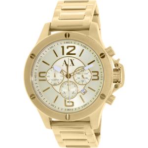 Armani Exchange Men's AX1504 Gold Stainless-Steel Quartz Watch
