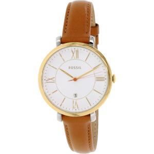 Fossil Women's ES3737 Brown Leather Quartz Watch