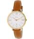 Fossil Women's ES3737 Brown Leather Quartz Watch - Main Image Swatch