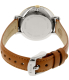 Fossil Women's ES3737 Brown Leather Quartz Watch - Back Image Swatch