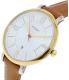 Fossil Women's ES3737 Brown Leather Quartz Watch - Side Image Swatch