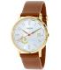 Fossil Women's ES3750 Silver Leather Quartz Watch - Main Image Swatch