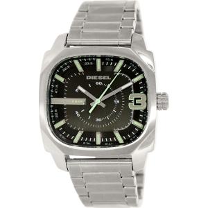 Diesel Men's Shifter DZ1651 Silver Stainless-Steel Analog Quartz Watch