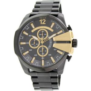 Diesel Men's DZ4338 Black Stainless-Steel Quartz Watch