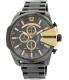 Diesel Men's DZ4338 Black Stainless-Steel Quartz Watch - Main Image Swatch