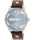 Diesel Men's Mini Daddy DZ7321 Brown Leather Quartz Watch - Main Image Swatch