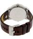 Diesel Men's Mini Daddy DZ7321 Brown Leather Quartz Watch - Back Image Swatch