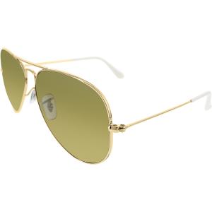 Ray-Ban Women's Aviator RB3025-001/3K-58 Gold Aviator Sunglasses