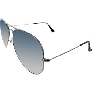 Ray-Ban Men's Aviator RB3025-004/78-62 Green Aviator Sunglasses