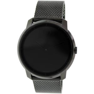 Movado Men's Bold 3600261 Black Stainless-Steel Swiss Quartz Watch