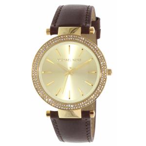 Michael Kors Women's Darcy MK2363 Brown Leather Quartz Watch