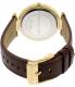 Michael Kors Women's Darcy MK2363 Brown Leather Quartz Watch - Back Image Swatch