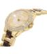 Michael Kors Women's Camille MK4291 Tortoiseshell Stainless-Steel Quartz Watch - Side Image Swatch