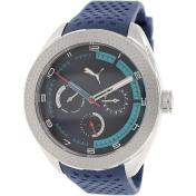 Puma Men's PU103252004 Blue Silicone Analog Quartz Watch