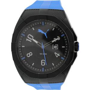 Puma Men's PU103501004 Blue Silicone Analog Quartz Watch