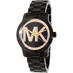Michael Kors Women's Runway MK6057 Black Stainless-Steel Quartz Watch