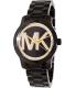 Michael Kors Women's Runway MK6057 Black Stainless-Steel Quartz Watch - Main Image Swatch