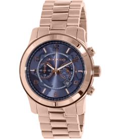Michael Kors Men's MK8358 Rose Gold Stainless-Steel Quartz Watch
