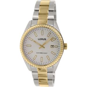 Lorus Men's RH996DX9 Silver Stainless-Steel Quartz Watch