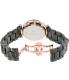 Precimax Women's Lily Elite Crystal PX13377 Black Ceramic Quartz Watch - Back Image Swatch
