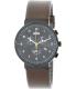 Braun Men's BN0035BKBRG Brown Leather Analog Quartz Watch - Main Image Swatch