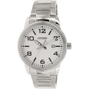 Citizen Men's BI1020-57A Silver Stainless-Steel Quartz Watch
