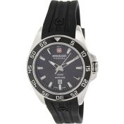 Swiss Military Hanowa Men's 06-6221-04-007 Black Silicone Swiss Quartz Watch