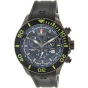 Swiss Military Hanowa Men's 06-4226-13-007 Black Rubber Swiss Quartz Watch