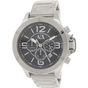 Armani Exchange Men's AX1501 Silver Stainless-Steel Quartz Watch