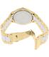 Michael Kors Women's Slim Runway MK4295 Gold Stainless-Steel Quartz Watch - Back Image Swatch