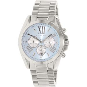 Michael Kors Women's Bradshaw MK6099 Silver Stainless-Steel Quartz Watch