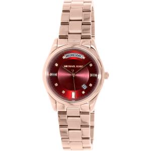 Michael Kors Women's Colette MK6103 Rose Gold Stainless-Steel Quartz Watch