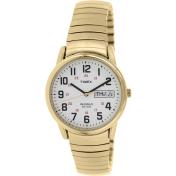 Timex Men's Easy Reaser T2N092 Antique Gold Metal Quartz Watch