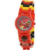 Lego Children's Ninjago 9009822 Multicolor Plastic Quartz Watch