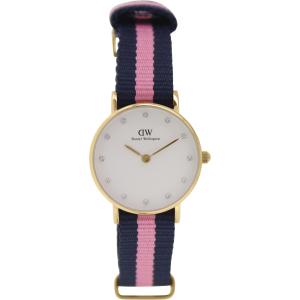 Daniel Wellington Women's Winchester 0906DW Pink Nylon Quartz Watch