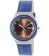 Swatch Men's Irony YGS774 Blue Leather Swiss Quartz Watch - Main Image Swatch