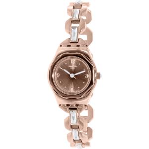 Swatch Women's Irony YSG136G Rose Gold Stainless-Steel Swiss Quartz Watch