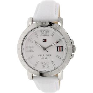 Tommy Hilfiger Women's 1781440 White Leather Analog Quartz Watch