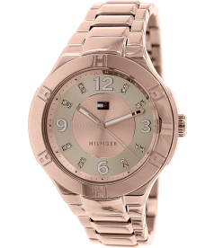 Tommy Hilfiger Women's 1781445 Rose Gold Stainless-Steel Analog Quartz Watch