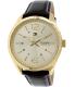 Tommy Hilfiger Men's 1791059 Brown Leather Analog Quartz Watch - Main Image Swatch