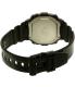 Casio Men's F108WHC-1B Black Rubber Quartz Watch - Back Image Swatch