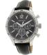 Nautica Men's Bfd 104 N16659G Black Leather Quartz Watch - Main Image Swatch