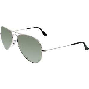 Ray-Ban Men's Polarized Aviator RB3025-003/59-58 Silver Aviator Sunglasses